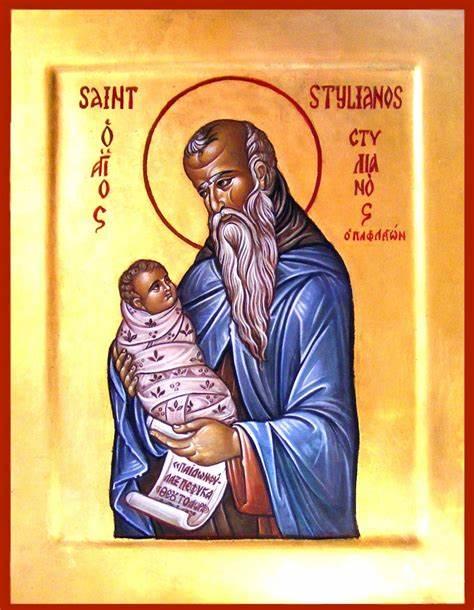 Acatistul Sfântului Cuvios Stelian Paflagonul, ocrotitorul pruncilor – 26 Noiembrie