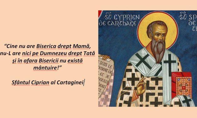 Sfântul Ciprian al Cartaginei – Despre comuniunea cu episcopul eretic