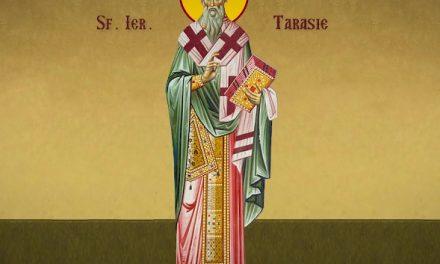 Luna februarie în 25 de zile: pomenirea celui întru Sfinţi, Părintele nostru Tarasie, arhiepiscopul Constantinopolului († 806)
