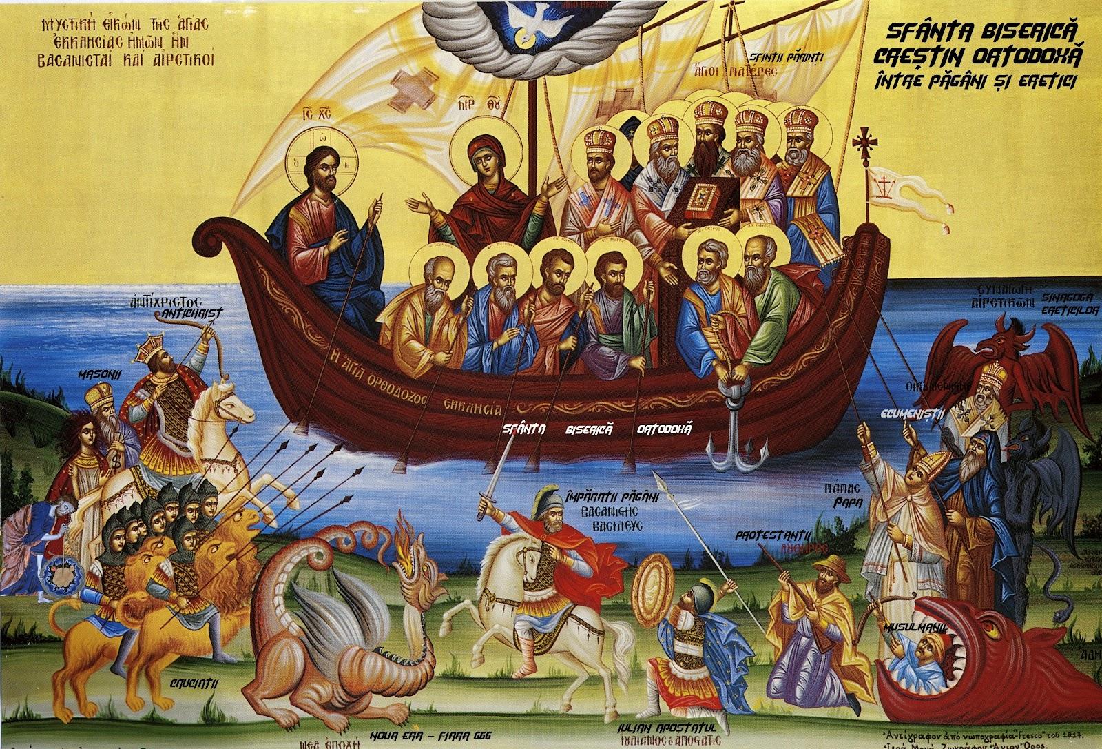 Mărturiile Sfinților Părinți privind îngrădirea de erezie