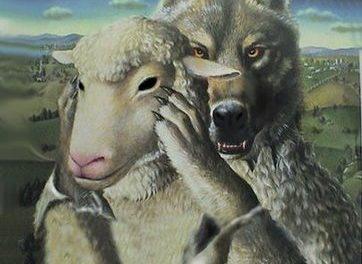 Plugușor cu lupii la oi păstori!