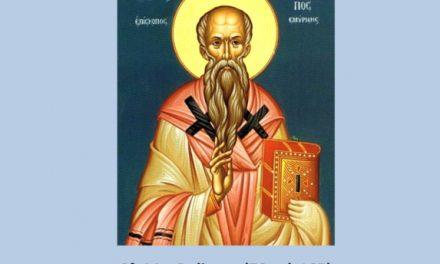 SINAXAR – 23 februarie: pomenirea Sfântului, sfințitului Mucenic Policarp, episcopul Smirnei (†156)