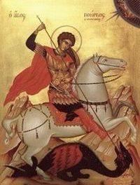 SINAXAR – 23 aprilie: Pomenirea Sfântului, slăvitului mare Mucenic Gheorghe, purtătorul de biruință († 303)