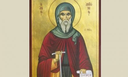 Sfântul Cuvios Antonie cel Mare. Răutatea veche nu poate fi bunătate nouă şi începătorul răutaţilor nu se face făcător de bunătăţi noi.