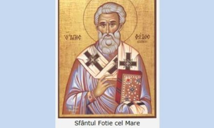 Luna februarie în 6 zile: Pomenirea Sfântului Ierarh Fotie cel Mare mărturisitorul, cel întocmai cu apostolii, patriarhul Constantinopolului, și a Preacuviosului Părintelui nostru Vucol, episcopul Smirnei