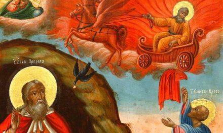 Luna iulie în 20 zile: suirea la Cer, cu căruța de foc, a Sfântului Prooroc Ilie Tesviteanul (895 î.Hr)