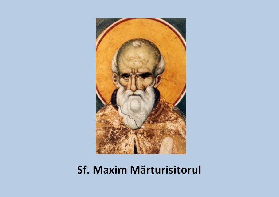 Chemare la urmarea Sfântului Maxim Mărturisitorul