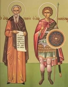 SINAXAR – 5 aprilie: Sfinţii Mucenici Teodul şi Agatopod (†300)