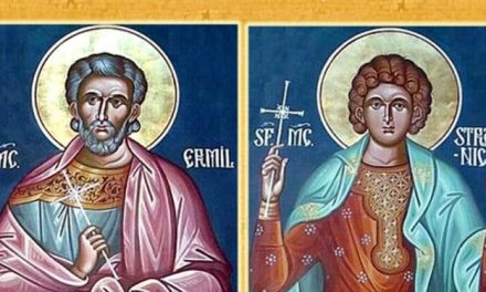 SINAXAR – 13 ianuarie: pomenirea Sfinţilor Mucenici Ermil şi Stratonic (†314)
