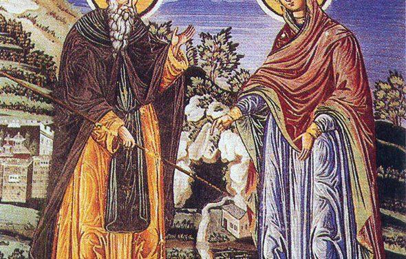 SINAXAR – 5 iulie: pomenirea Cuviosului şi de Dumnezeu purtătorului, Părintele nostru Atanasie, cel din Aton, şi cei împreună cu dânsul, şase ucenici ai lui (†1000)