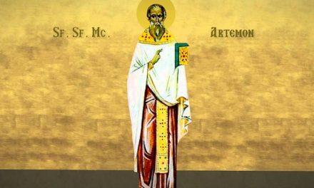 SINAXAR – 13 aprilie: pătimirea Sfântului, sfințitului Mucenic Artemon, preotul din Laodiceea († 303)