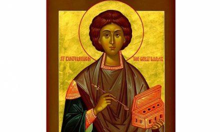 SINAXAR – 27 iulie: pomenirea Sfântului, slăvitului, Marelui Mucenic și tămăduitor Pantelimon (†303)