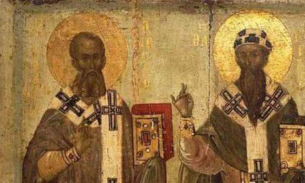 SINAXAR – 18 ianuarie: Pomenirea celor între Sfinţi, Părinţii noştri Atanasie şi Chiril, patriarhii Alexandriei