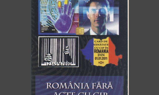 România fără acte cu cip