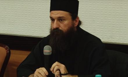 Gheron Sava trimite un mesaj de încurajare celor ce luptă pentru apărarea Schitului Rădeni