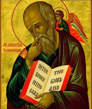 Luna mai în 8 zile: pomenirea Sfântului şi slăvitului Apostol şi Evanghelist Ioan, ucenicul cel iubit şi iubitor de feciorie, de Dumnezeu cuvântătorul