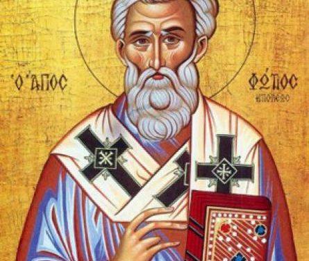 Acatistul Sf. Fotie cel Mare – prăznuit la 06 feb.