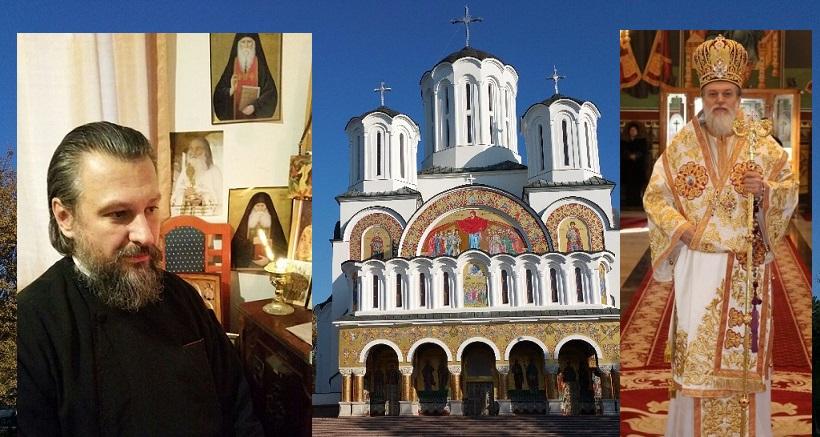 Părintele Claudiu Buză a fost caterisit de ecumeniști, de fapt încununat de Hristos. AXIOS !