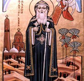 SINAXAR – 15 mai: pomenirea Preacuviosului Părintelui nostru Pahomie Tabenisiotul (†347)