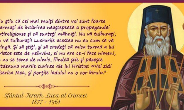 Sinaxar 11Iunie – pomenirea Sfântului Luca, Arhiepiscopul de Crimeea, a Sfinţilor Apostoli Bartolomeu şi Barnaba