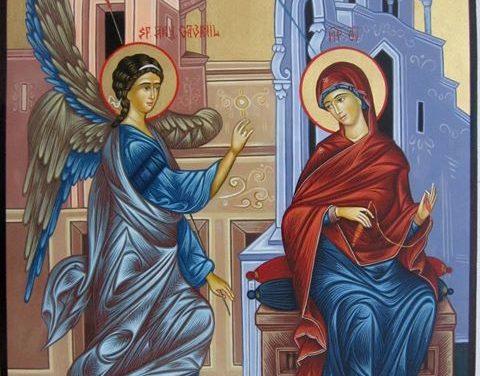 Maica Domnului și Acatistul Bunei-Vestiri