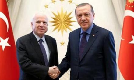 Se împlinește PROFEȚIA CUVIOSULUI PAISIE AGHIORITUL despre EUFRAT? Turcia închide Eufratul spre SIRIA, după întâlnirea senatorului John McCain cu președintele Recep Tayyip Erdogan