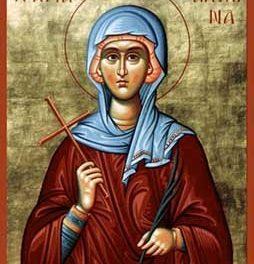 SINAXAR – 13 iunie: pomenirea Sfintei Muceniţe Achilina († 303)