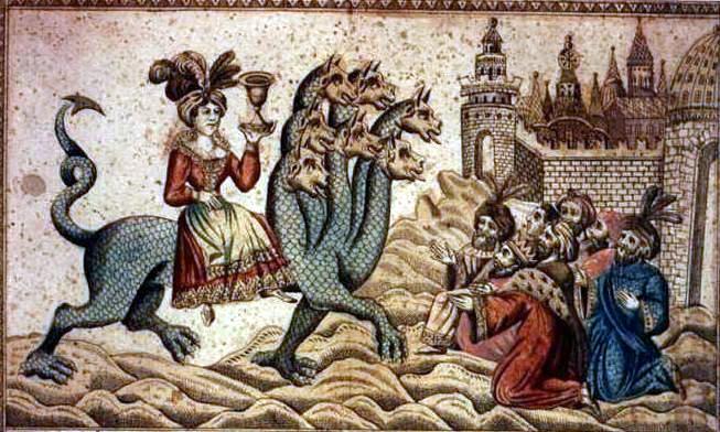 GLOBALIZAREA ECUMENISTĂ ŞI ÎMPĂRĂŢIA LUI ANTIHRIST. Biserica APOSTATĂ – mireasa lui ANTIHRIST
