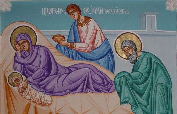 SINAXAR – 24 iunie: naşterea Sfântului, slăvitului Prooroc, Înainte-Mergătorul şi Botezătorul Domnului, Ioan