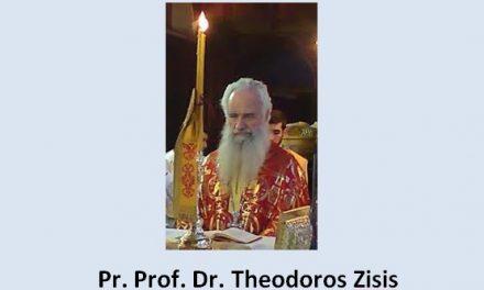 Predica Pr. Prof. Theodoros Zisis la anunțarea întreruperii pomenirii Arhiepiscopului Antim al Tesalonicului