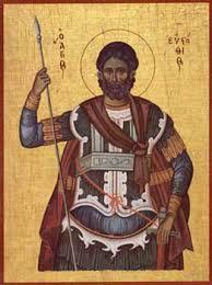 SINAXAR – 20 septembrie: pomenirea Sfântului, Marelui Mucenic Eustatie, a Sfintei Teopista, soția lui, și a celor doi fii ai lor: Agapie și Teopist (†120)