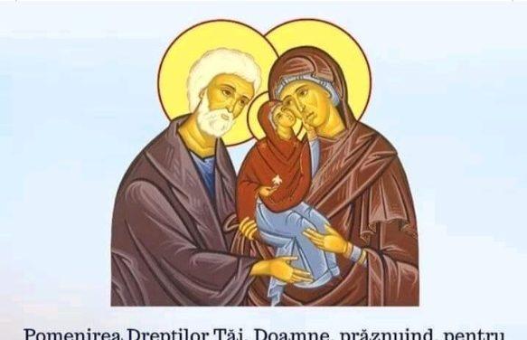 SINAXAR – 9 septembrie: Sfinții si Drepții dumnezeiești părinți Ioachim și Ana