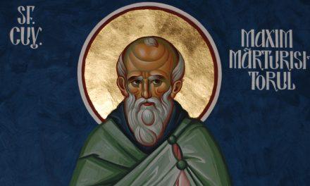 SINAXAR – 13 august: Mutarea moaștelor Preacuviosului Părintelui nostru Maxim Mărturisitorul