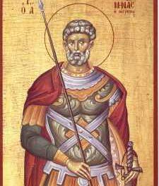 SINAXAR – 11 noiembrie: pomenirea Sfântului Mare Mucenic Mina, cel din Mitropolia Cotiani (†304)