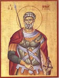 Luna noiembrie în 11 zile: pomenirea Sfântului Mare Mucenic Mina, cel din Mitropolia Cotiani (†304)