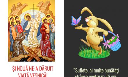 A paște fericit depinde… de calitatea ierbii! Boii, oile, caprele pasc, creștinii se bucură în Domnul înviat!