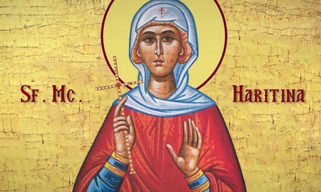 Luna octombrie în 5 zile: Pomenirea Sfintei Muceniţe Haritina (†304)