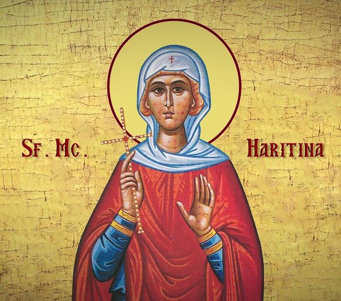 SINAXAR – 5 octombrie: Pomenirea Sfintei Muceniţe Haritina (†304)