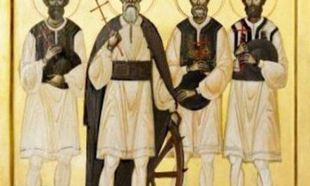 SINAXAR – 12 noiembrie: † Sfinții Martiri și Mărturisitori Năsăudeni Atanasie Todoran din Bichigiu, Vasile din Mocod, Grigorie din Zagra și Vasile din Telciu, pomenirea celui dintre Sfinți Părintelui nostru Ioan Milostivul, arhiepiscopul Alexandriei (†619)