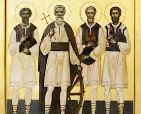 Luna noiembrie în 12 zile: † Sfinții Martiri și Mărturisitori Năsăudeni Atanasie Todoran din Bichigiu, Vasile din Mocod, Grigorie din Zagra și Vasile din Telciu, pomenirea celui dintre Sfinți Părintelui nostru Ioan Milostivul, arhiepiscopul Alexandriei (†619)