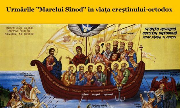 """Broșură – Adevărul despre ECUMENISM și """"SINODUL"""" din CRETA"""