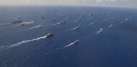 PORTAVIOANELE şi FLOTA DE ATAC ale SUA ÎNDREPTÂNDU-SE către Marea Coreei de Nord