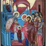 21 noiembrie: Intrarea în Biserică a Preasfintei Stăpânei nostre Născătoarei de Dumnezeu şi pururea Fecioarei Maria