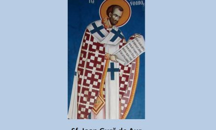 SINAXAR – 13 noiembrie: pomenirea celui între Sfinți Părintele nostru Ioan Gură de Aur, arhiepiscopul Constantinopolului (†407)