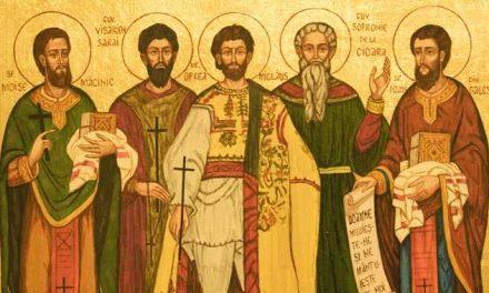 Luna octombrie în 21 zile: pomenirea Preacuviosului Părintelui nostru Ilarion cel Mare (†372) și a Sfinților Mărturisitori Ardeleni