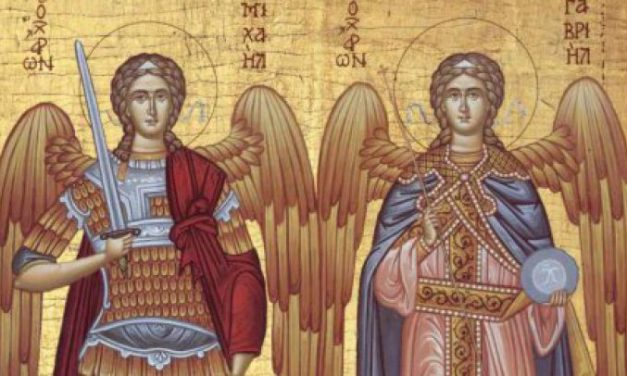 Luna noiembrie în 8 zile: Soborul mai marilor Arhistrategi Mihail și Gavriil și al tuturor cereștilor, fără de trupuri, Puteri