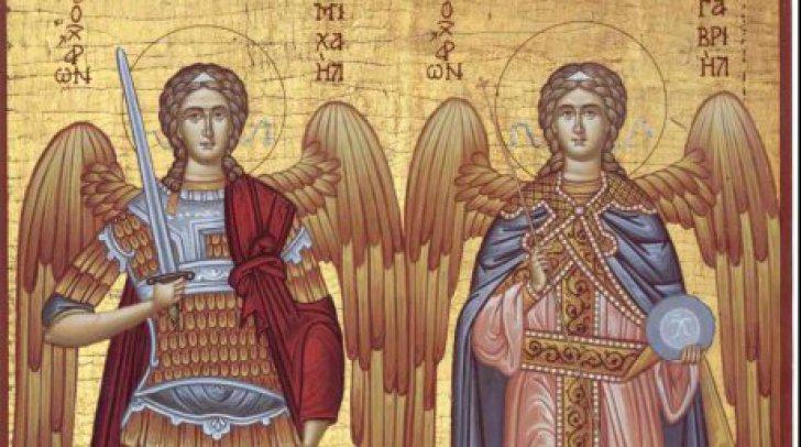 SINAXAR – 8 noiembrie: Soborul mai marilor Arhistrategi Mihail și Gavriil și al tuturor cereștilor, fără de trupuri, Puteri