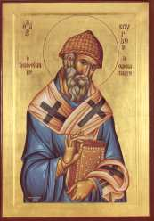 SINAXAR – 12 decembrie: pomenirea Preacuviosului Părintelui nostru şi făcătorul de minuni Spiridon (†347)