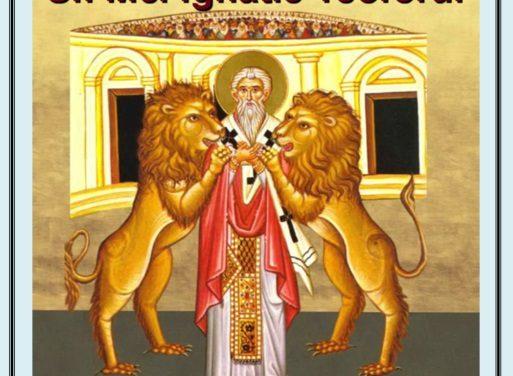 SINAXAR – 20 decembrie: pomenirea Sfântului sfinţitului Mucenic Ignatie, purtătorul de Dumnezeu (†107) și a Sfântului Ioan de Kronstadt († 20 decembrie 1908)