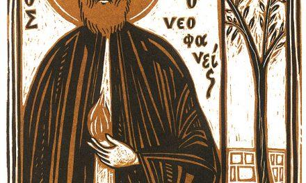 5 Mai: Sfântul Efrem cel Nou